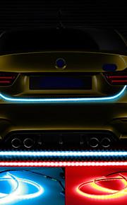 12v 48w 4800lm coche multicolores multifunción llevó la cola de la lámpara de exploración de la señal de viraje alta luz roja flash 100%