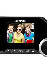 Danmini 3.0inch tager billed og video optagelse farve skærm peephole viewer