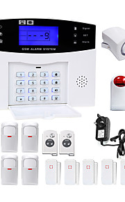 Danmini lcd wirless gsm / pstn home office ufficio sistema di allarme antifurto intruso