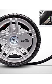 Lorcoo 12v 100w voorgeprogrammeerde digitale bandbatterij met case adapter set en led licht