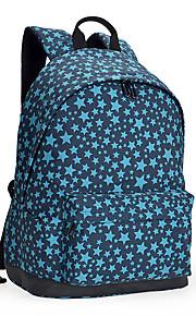 13-tommer letvægts nylon pu læder rygsæk rygsæk sko taske bærbar rygsæk dagpakke til skole arbejde vandreture