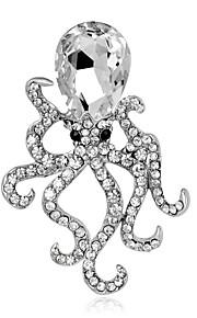 Naisten Tyttöjen Rintaneulat Uniikki Muoti söpö tyyli Euramerican Käsintehty Lasi Metalliseos Animal Shape Korut Käyttötarkoitus