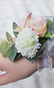 Bouquet sposa Braccialetto floreale Matrimonio 10 cm ca.