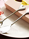 Heart Tip Spoon And Fork Set Wedding Favor