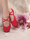 hög kvalitet canvas övre dans skor balett toffel för vuxna och barn fler färger