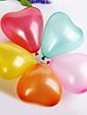 Wedding Décor Solid Color Heart-shaped Ballon (set of 100)