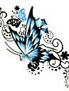 5 pcs tatouage de papillon etanche temporaire (6m * 6cm)