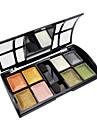 8 Eyeshadow Palette Shimmer Eyeshadow palette Powder Normal Party Makeup