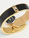 pentru Doamne Ceas Elegant Ceas La Modă Ceas de Mână Ceas Brățară Quartz Aliaj Bandă Brățară rigidă Elegant Negru Alb RoșuPortocaliu Mov
