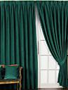 solides mat rideaux occultants occasionnels (deux panneaux)