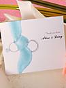 """Card Plat Invitatii de nunta 50-Felicitări de mulțumire Stil Clasic Stil modern Hârtie Perlă 6 ½""""×4 ½"""" (16.6*11.5cm)"""