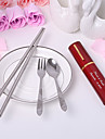 Personalized 3 in 1 Compact Cutlery Set - Set of 4 (More Colors)