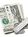 שושבין חתן מתנה אישית קליפ כסף - סימן דולר