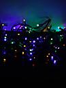10m de 100 led colore en mode 8-conduit lampe de chaine de fees pour Noel (220v)