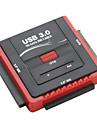 """Haute-Speed USB 3.0 a SATA et IDE 2.5 """"et 3.5"""" adaptateur de disque"""