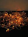 18m 180 conduit colore lumiere 8 modes etincelles feerique de noel guirlande lumineuse (220v)