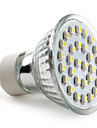 GU10 Spot LED MR16 30 SMD 3528 90 lm Blanc Naturel AC 100-240 V