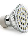 GU10 LED-spotlights MR16 30 SMD 3528 90 lm Naturlig vit AC 220-240 V