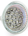 1W GU10 / GU5.3(MR16) LED-spotlights MR16 21 DIP-LED 65 lm Varmvit / Naturlig vit DC 12 / AC 12 / AC 220-240 V
