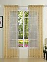 twopages® två paneler eleganta Princess infall rena gardiner draperier