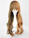 lolita våg peruk inspirerad av brun japansk stil 60cm klassiker