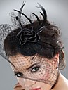 Unique Net With Feather/Flower Women\'s Fascinators