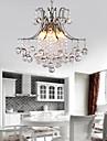 60 Lampe suspendue ,  Contemporain Plaque Fonctionnalite for Cristal Metal Salle de sejour Chambre a coucher