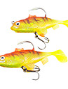 80MM 16G Soft Fishing Lure (2 Pcs/Packed)