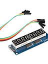 8 x displayer sju etapper modul för (för Arduino) (595 förare)