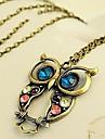 Women\'s Vintage Owl Pendant Necklace