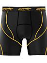 SANTIC® Vadderade cykelbyxor Herr Cykel Andningsfunktion Shorts / underställ / Underdelar Spandex Enfärgat Vår / Sommar Cykling/Cykel