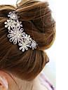 stick de diamant păr flori femeilor (10 * 8.5cm)