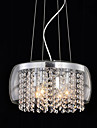 Max 60W Contemporain / Batterie Cristal / Style mini Peintures Lampe suspendue Salle de sejour / Salle a manger / Couloir