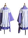 Inspire par Vocaloid Megurine Luka Video Jeu Costumes de cosplay Costumes Cosplay Mosaique Violet Manche LonguesVeste Kimono / Jupe /