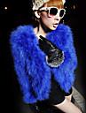 Met lange mouwen kraag Faux Fur Casual / Party Jacket (meer kleuren)