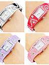 Women\'s Bracelet Style Alloy Analog Quartz Watch (Assorted Colors)
