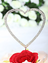"""Cake Toppers """"Loving You With All My Heart"""" Rhinestone  Cake Topper (More Sizes)"""