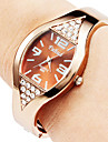 Women's Watch Diamond Decor Bronze Steel Cool Watches Unique Watches