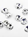 decor nunta uimitor genial tăiat cristal de diamant confetti - set de 50 de piese (multe dimensiuni)