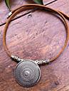 Vintage Handmade Leather Choker(Length:45CM)