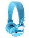Kanen ip-850 Studio hörlurar vikning med mic mikrofon (blandade färger)