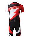 SPAKCT® Cykeltröja med shorts Herr Kort ärm CykelAndningsfunktion / Snabb tork / Ultraviolet Resistant / Fuktgenomtränglighet / 3D Pad /