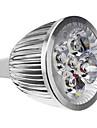 MR16 5W 500LM 5500-6500K LED-spot med Naturligt Vitt Ljus (12V)
