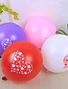 Wedding Décor Pretty Heart Design Round Ballon - set of 50 (More Colors)