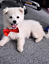 Pisici Câini Cravată/Papion Îmbrăcăminte Câini Vara Primăvara/toamnă Nod Papion Drăguț Nuntă Portocaliu Mov Rosu Albastru Roz