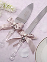 Stainless Steel Serving Sets Garden Theme Ribbon Gift Box