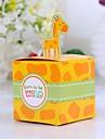 Cute Giraffe Baby Shower Favor Box (Set of 12)