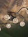 60W konstnärlig modern Flush Mount med 6 lampor i noten Feature