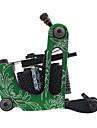 Coil Tatueringsmaskin Aluminum Legering Liner och Shader Dubbel Coils, 10 Wraps 12 7200-4800