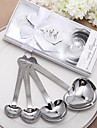 "Simply Elegant ""Love Beyond Measure"" Heart-Shaped Measuring Spoons in Gift Box(4 Pieces)"